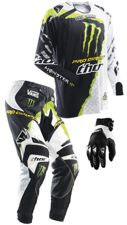 Dirt Bike Gears : Thor core pro circuit combo motocross feature stories