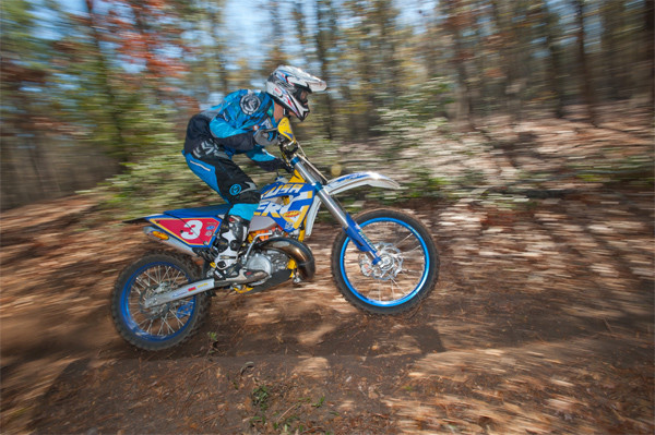Nick Fahringer at the first round of the National Enduro. (Photo: Shan Moore)