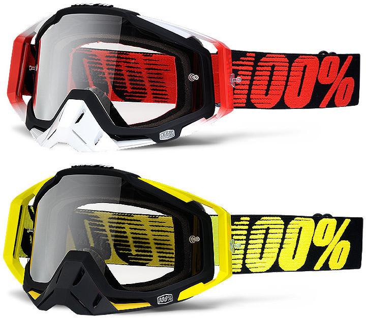 100% Goggles