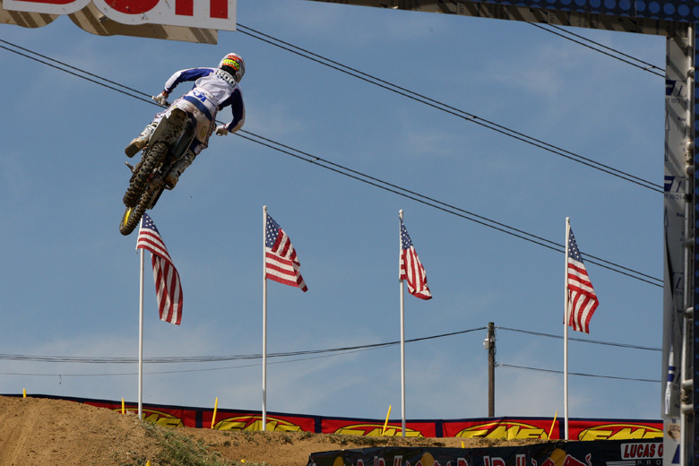 Mike Alessi is on the gas here.