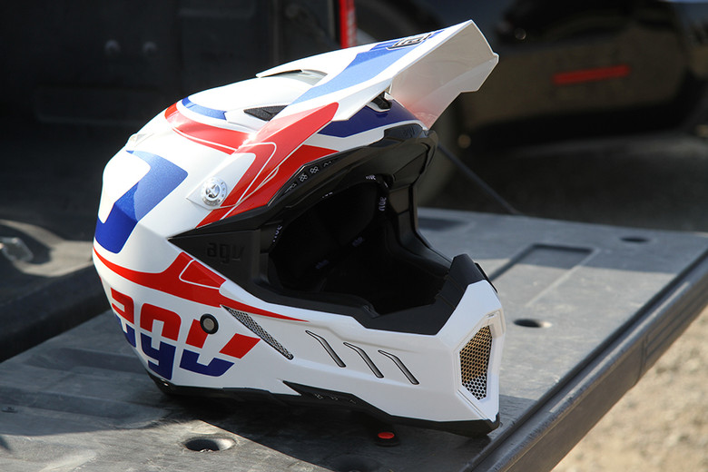 The AGV AX-8 has received a few changes since its first introduction.