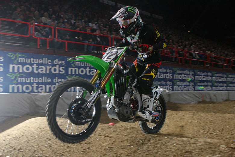 Jake Weimer had a great weekend in Bercy, with lots of wins, including Sunday night's heat race.