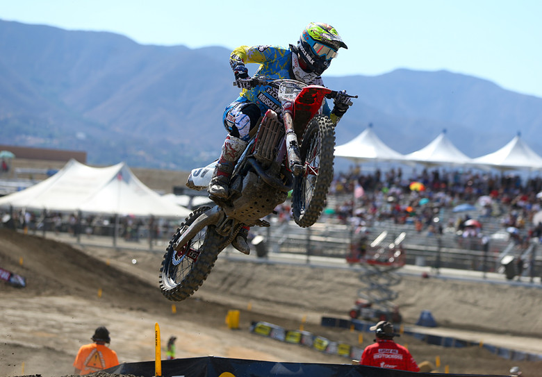 Justin Barcia (Team Honda Muscle Milk) was third overall on the day with a 5-3 score.