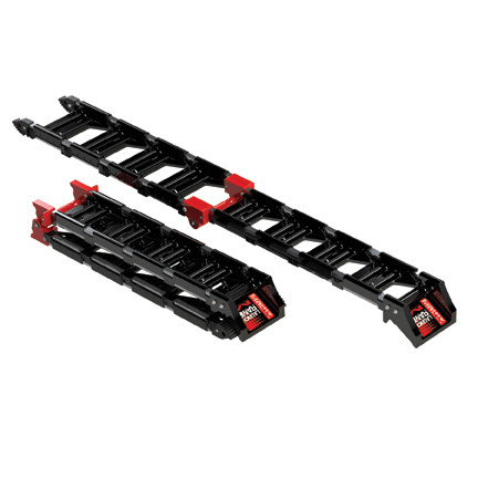 Aluminum Folding Ramps >> Matrix Concepts New Composite Plastic Folding Loading ...