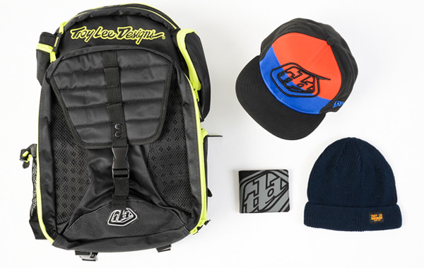 44464c5be18 First up is the Troy Lee Designs Ignition Backpack ( 85.00) that features  heavy-duty nylon anatomical construction