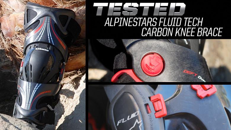 43eaadc1b8 Alpinestars Fluid Tech Carbon Knee Brace - Reviews, Comparisons ...