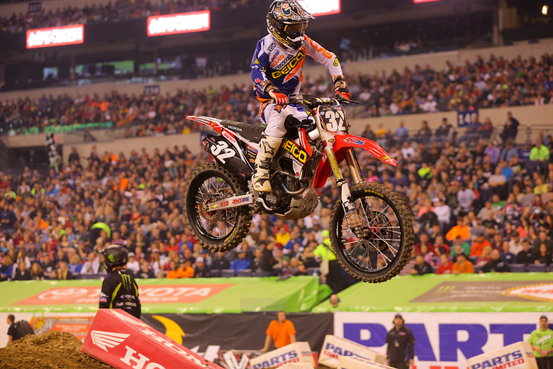 3. Another week, another podium for GEICO Honda's Justin Bogle. He put on a healthy charge, coming from mid-pack to grab a third.