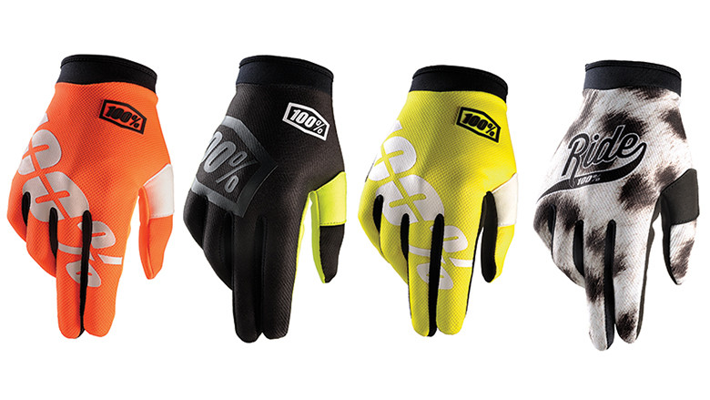 100% iTrack glove line.