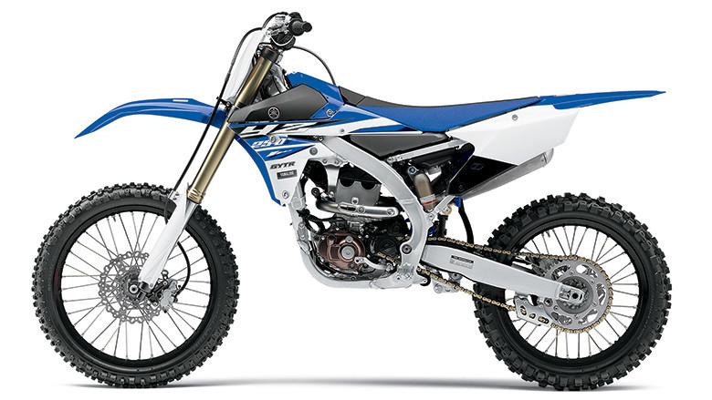 2015 Yamaha YZ250F in Blue.