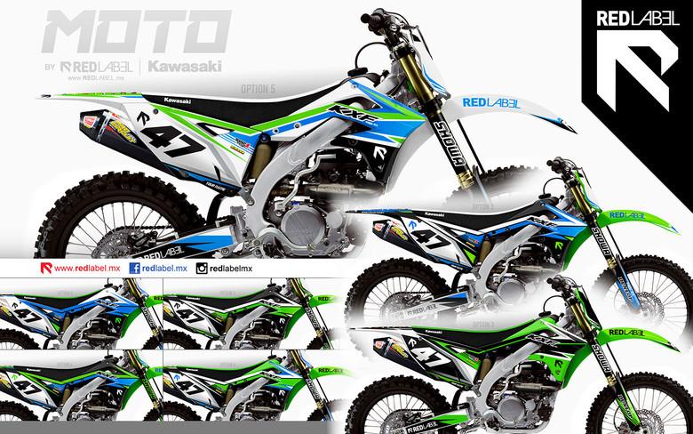 KTM 250 SXF Full  Custom Graphic  Kit 2007 AUSSIE PRIDE 2010 stickers