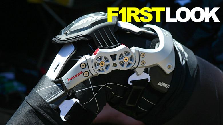 Mx Knee Braces >> First Look Leatt S C Frame Knee Brace Motocross Feature Stories
