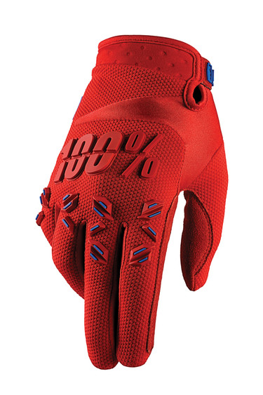 The Airmatics have more hand protection than the previous entries in the 100% lineup.