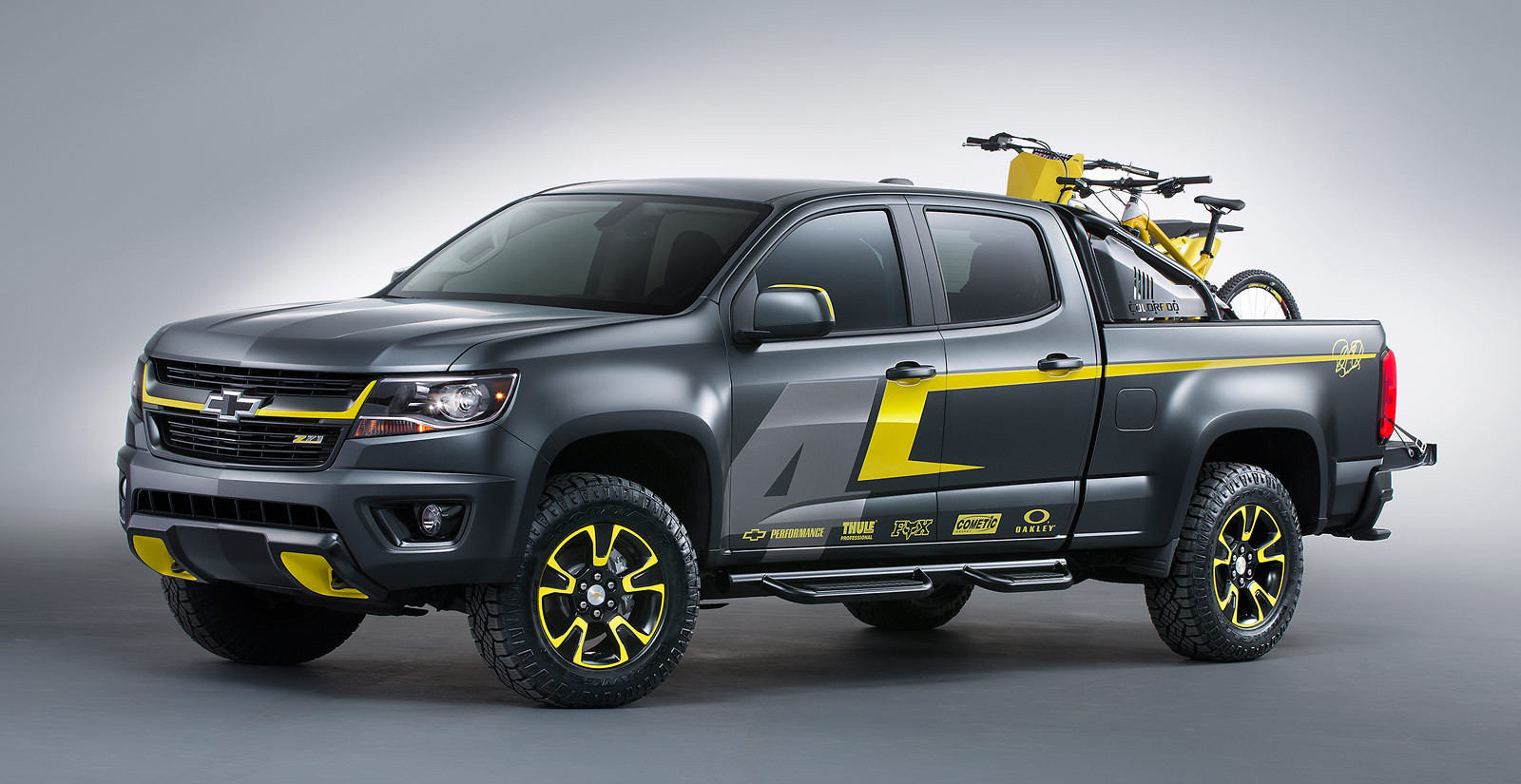 Truck chevy concept one truck : Ricky Carmichael Chevy Performance SEMA Concept Truck - Motocross ...
