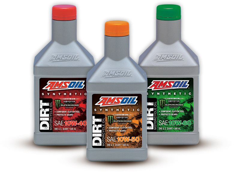 Amsoil Announces New Synthetic Dirt Bike Oil Available In Three