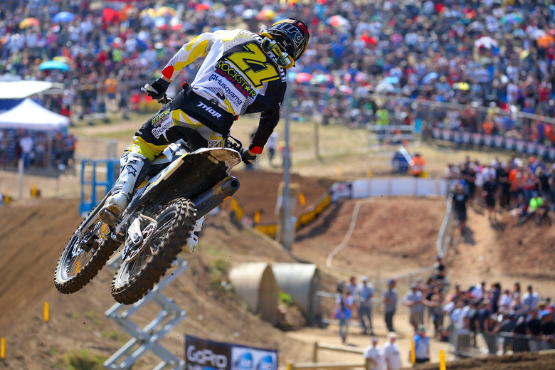 A podium in his first 450 National is a great start for Jason Anderson.