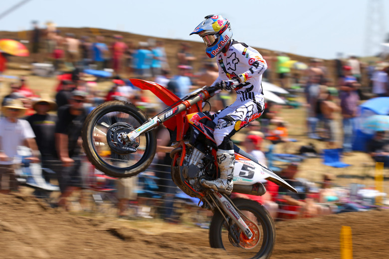 Ryan Dungey wasn't feeling it this weekend, and didn't push it. But a pair of seconds is a great way to start the series.