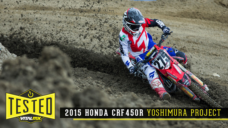 Excellent Tested 2015 Honda Crf450R Yoshimura Project Bike Evergreenethics Interior Chair Design Evergreenethicsorg