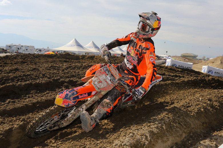 Ryan Dungey got it done at the Miller Motorsports Park, with a pair of moto wins, and clinching the 2015 Lucas Oil Pro Motocross 450 Championship.