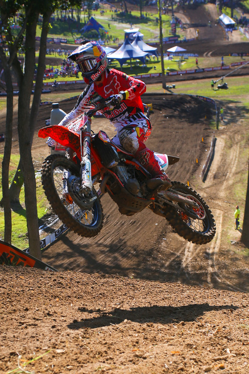 Ryan Dungey is on his usual pace, and clocked the fastest qualifying lap.