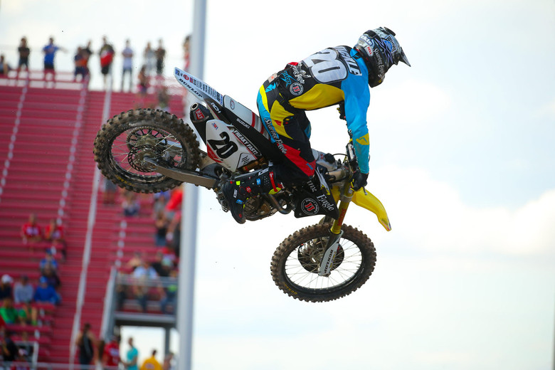 Broc Tickle is looking really fast...and smooth.