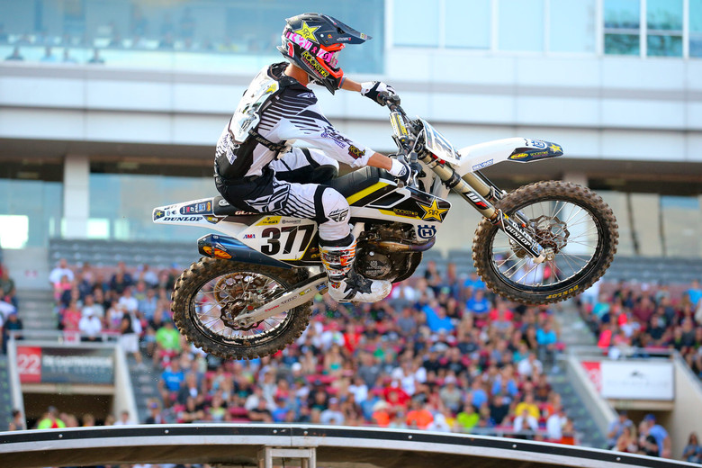 Christophe Pourcel is on the new '16 Husky, and was third-fastest.