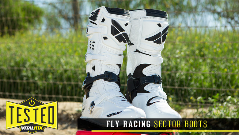 Black, 9 Fly Racing Sector Boots
