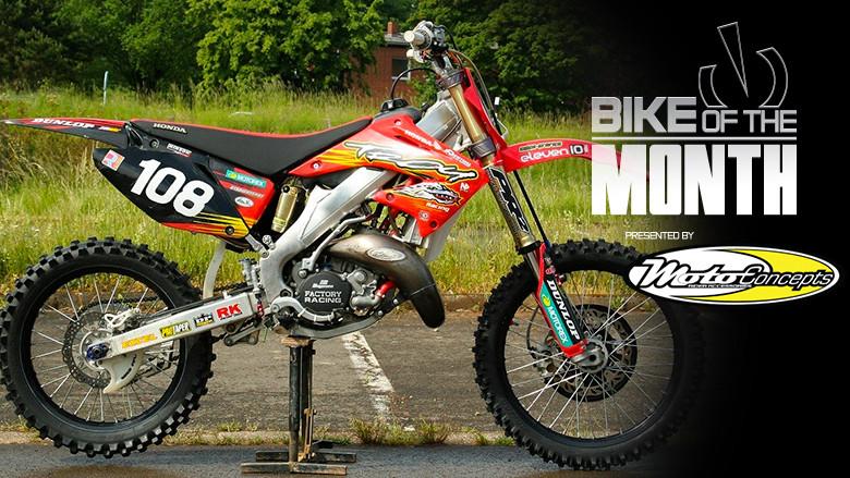 Honda Of Troy >> Bike Of The Month Eljott S Honda Of Troy Cr125 Motocross Feature