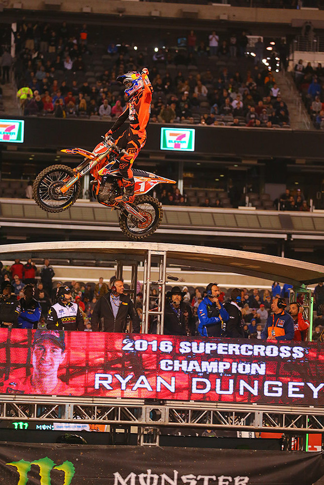 Make that Ryan Dungey's third title, and second in a row.