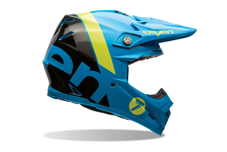 NEW Seven Mx Brand Aqua Motocross Dirt Bike Hat