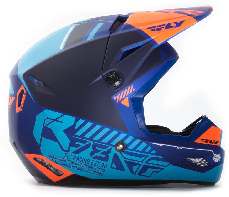 Matte Blue/Orange