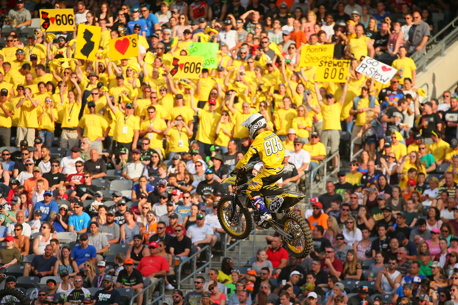 Ronnie Stewart has struggled this season while on the mend from a seriously tweaked wrist. He's only made a handful of mains in '17, but you can count on the home state New Jersey fans coming out strong for him in East Rutherford.