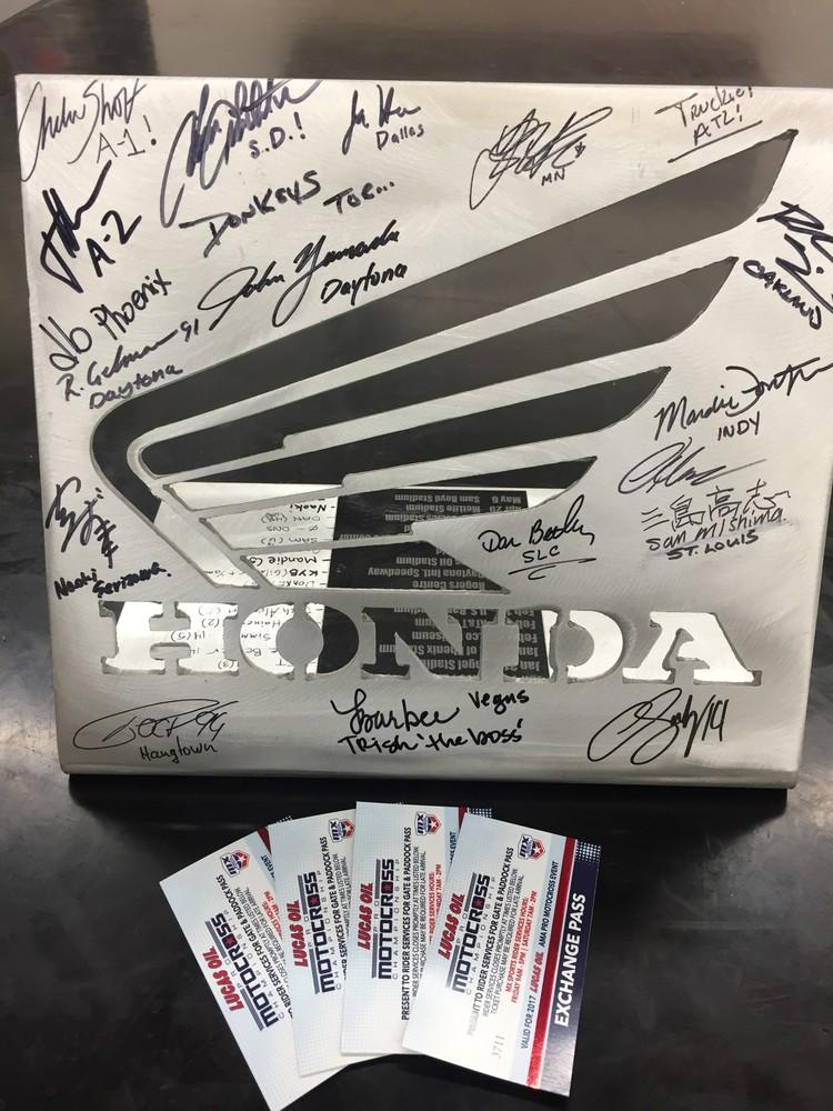 Team Honda HRC Impact Award and Motocross Fan Experience