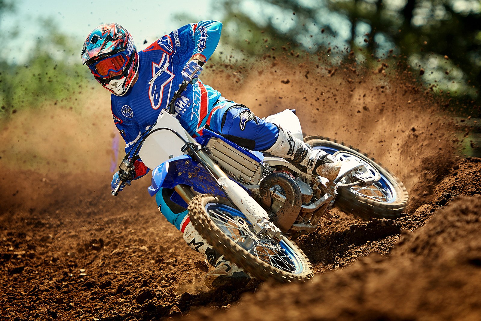 First Look 2018 Yamaha Yz Models Motocross Feature