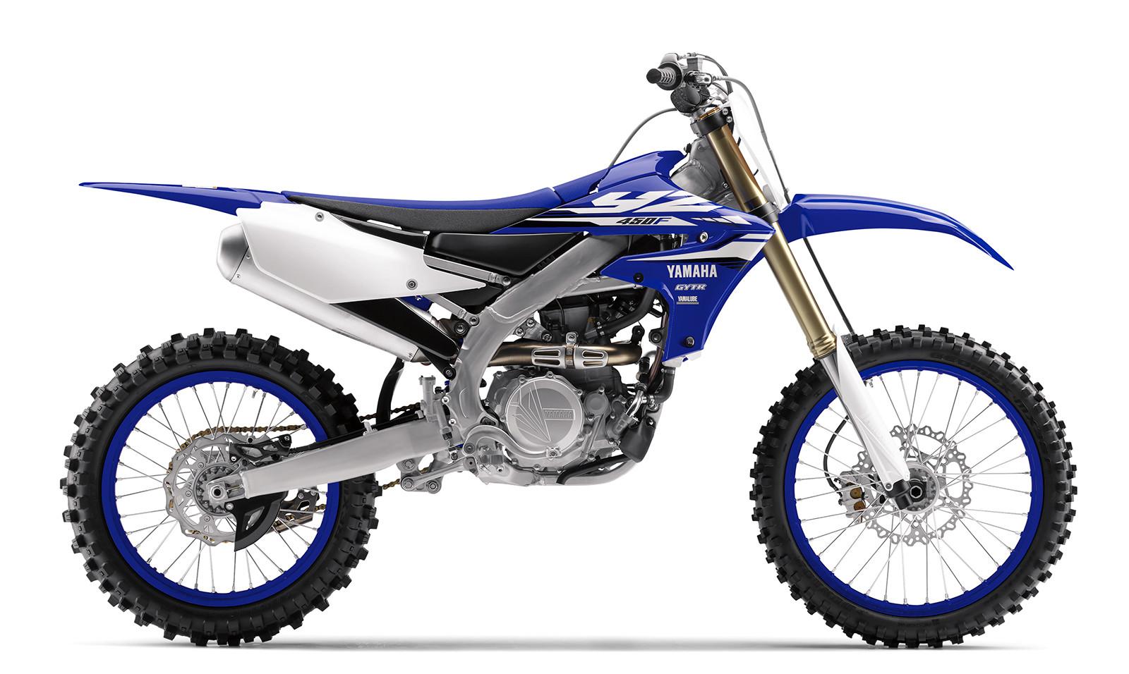 2018 Yamaha YZ450F.
