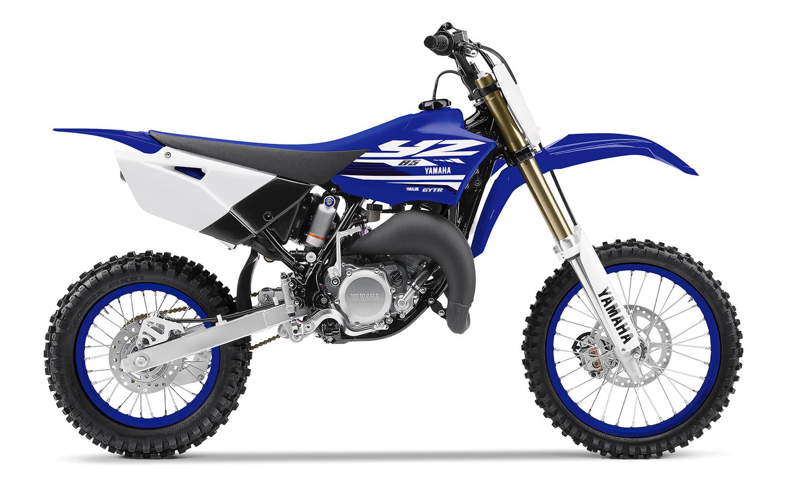 First Look 2018 Yamaha Yz Models Motocross Feature