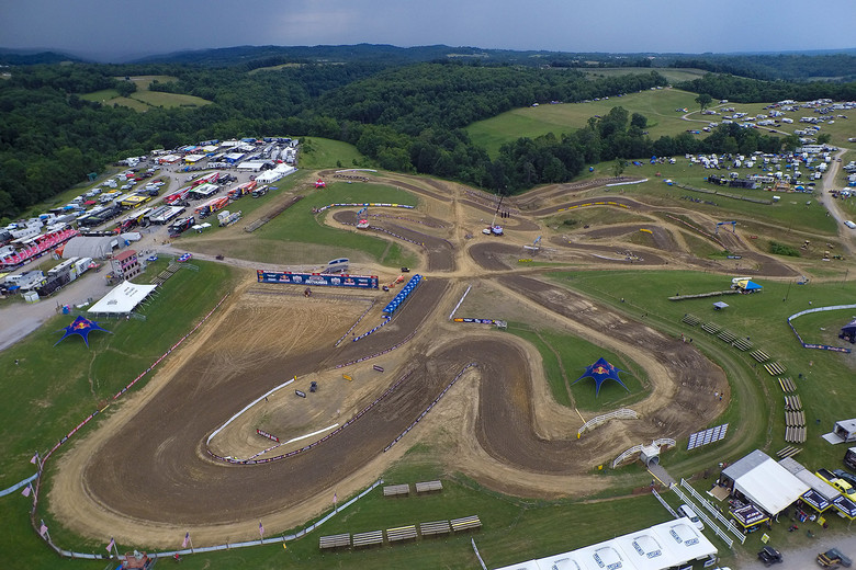 The revised High Point layout got generally positive reviews from the riders we talked to.