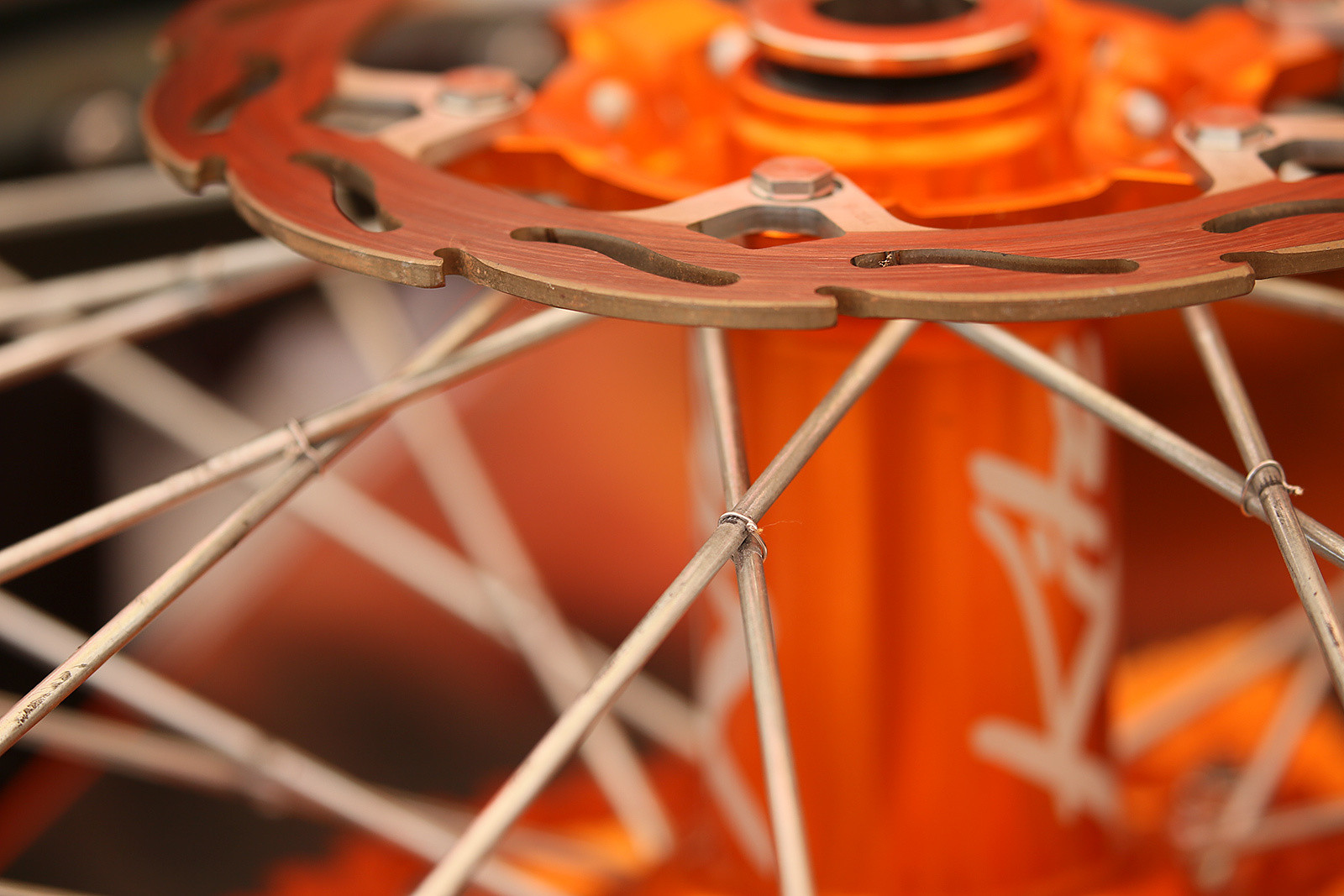 Spoke safety-wiring? Yeah, that's still a thing among the Red Bull KTM guys.