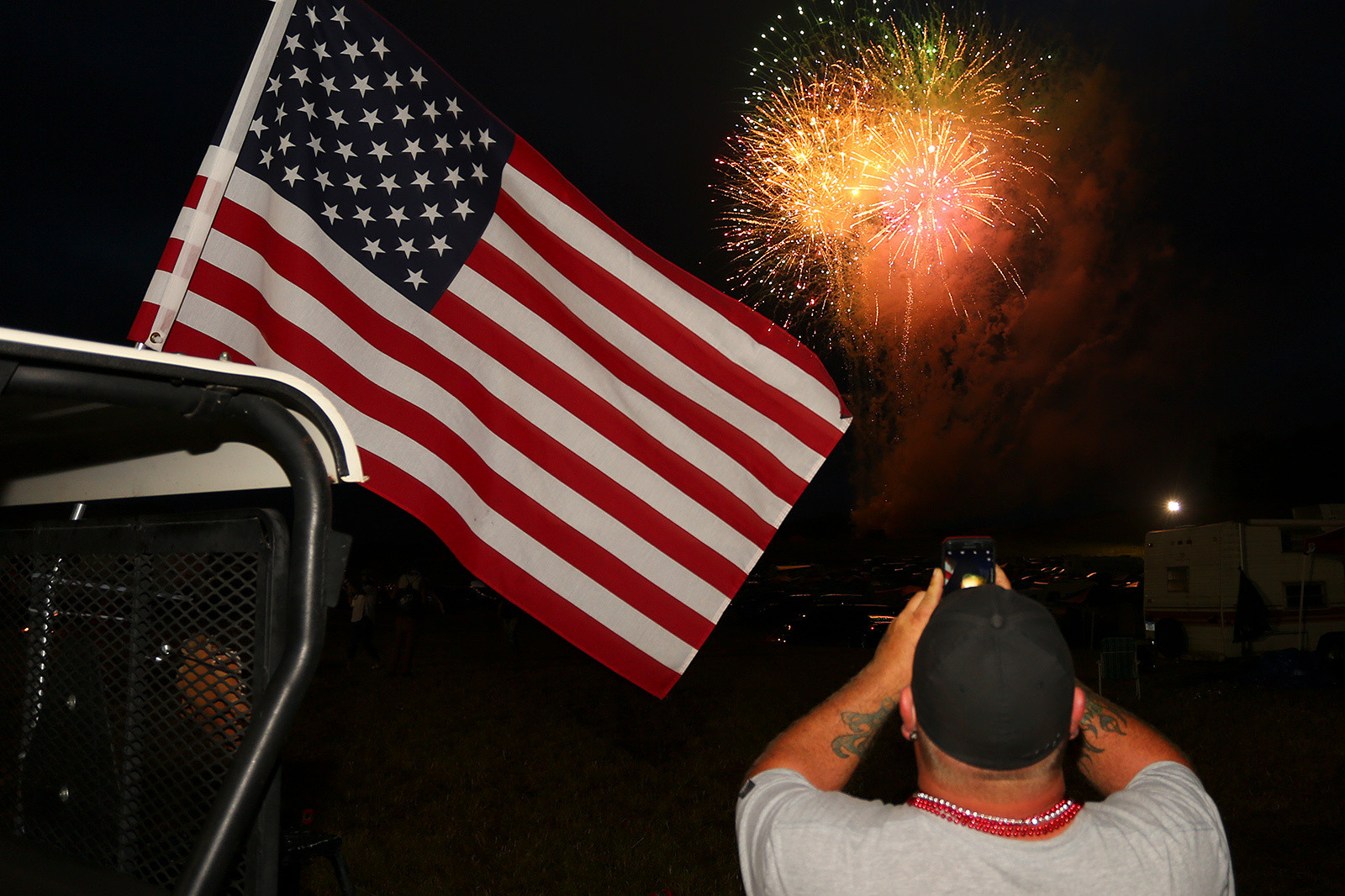 Nightly fireworks show? Yep, they've got that covered.