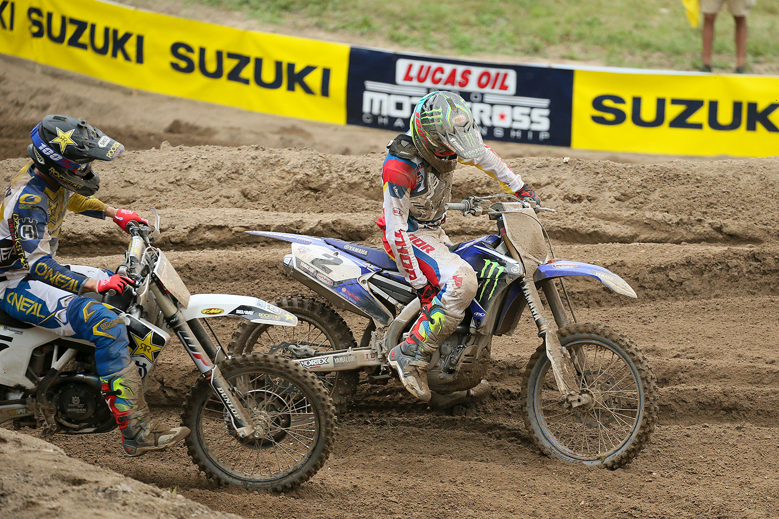 Cooper Webb (right), and Dean Wilson.
