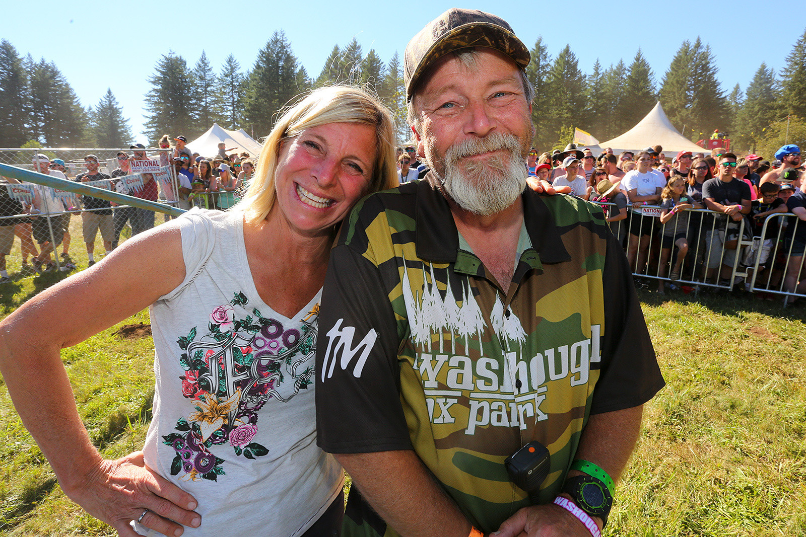 It's always good seeing the voice of Washougal, and his co-conspirator, Kristi.