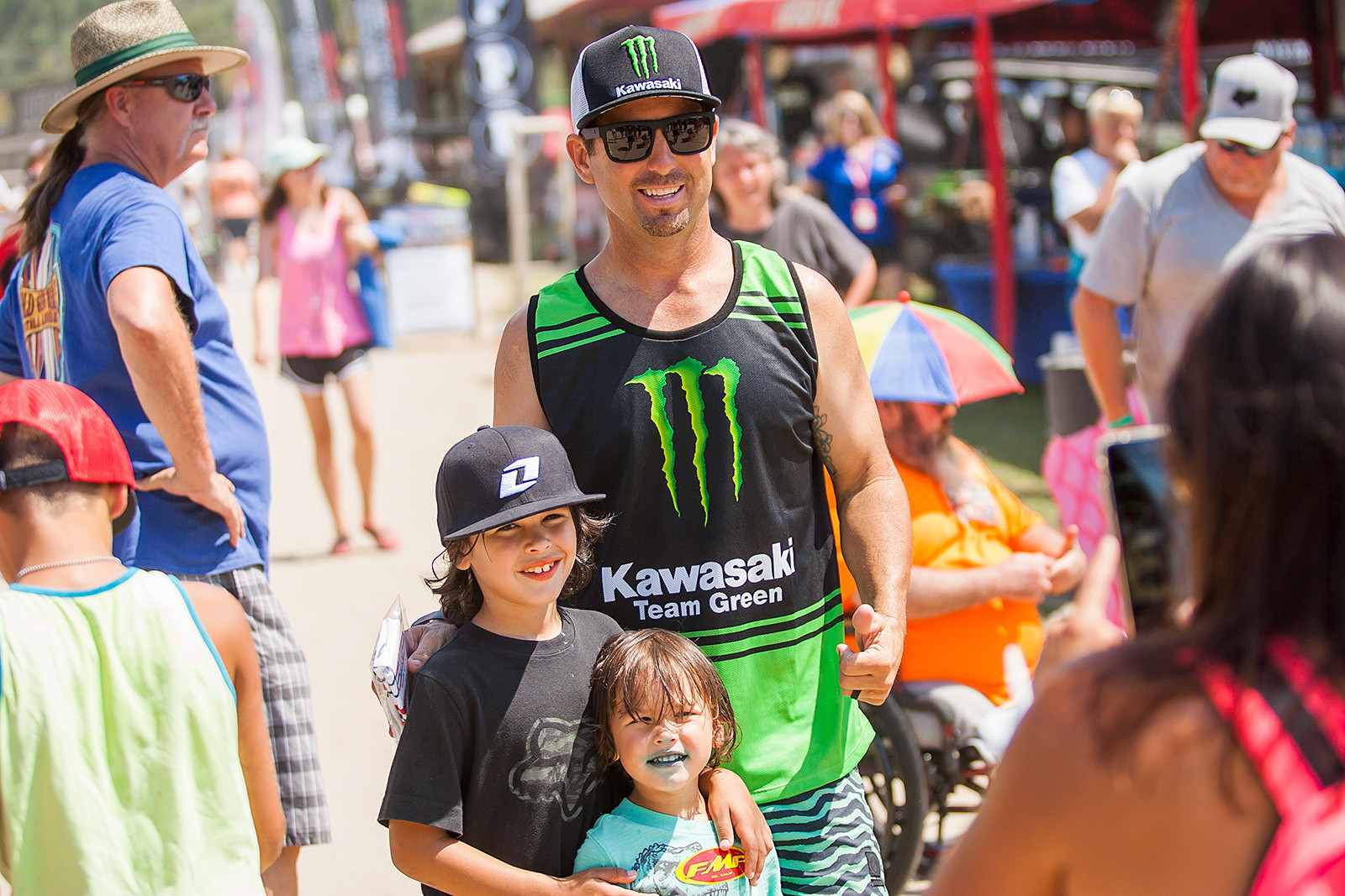 Going to Loretta Lynn's sometimes means meeting your hero (and former Novice class champion) Jeremy McGrath, who ended up in the Lucas Oil Dunk Tank to benefit the Brett Downey Safety Foundation.