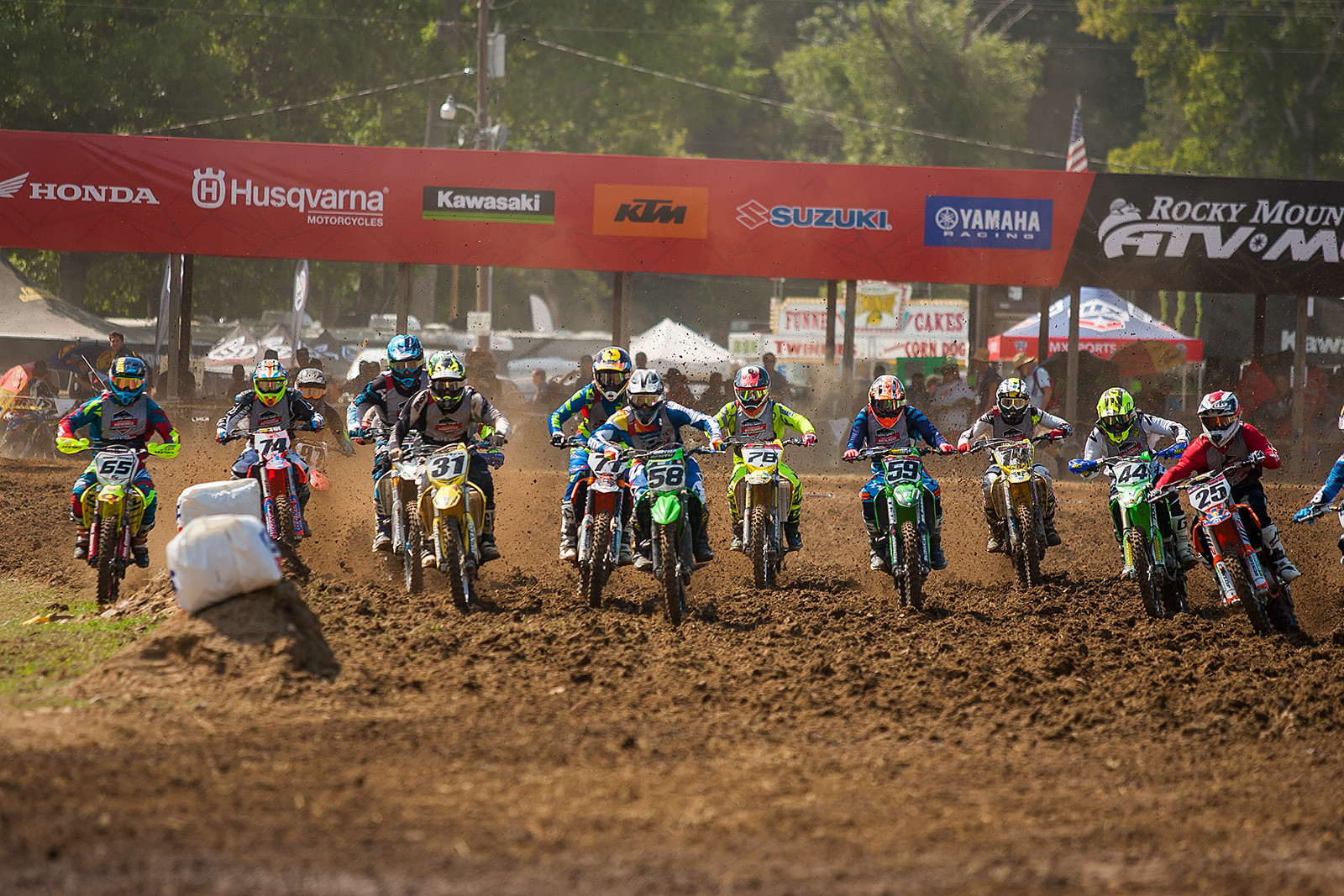 This is the 36th Annual Rocky Mountain ATV/MC AMA Amateur National Motocross Championship, which was established in 1982.