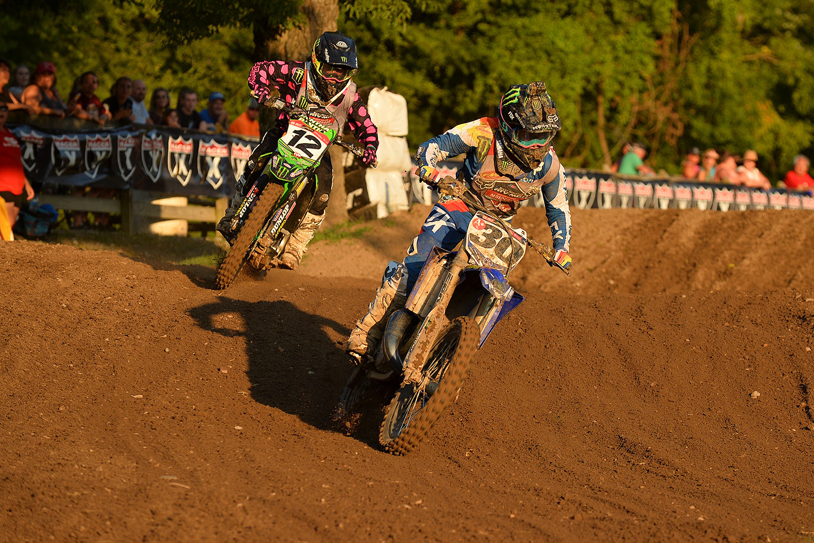 The Women's (12+) Amateur class has produced some of the most action-packed racing of the week at Loretta Lynn's.