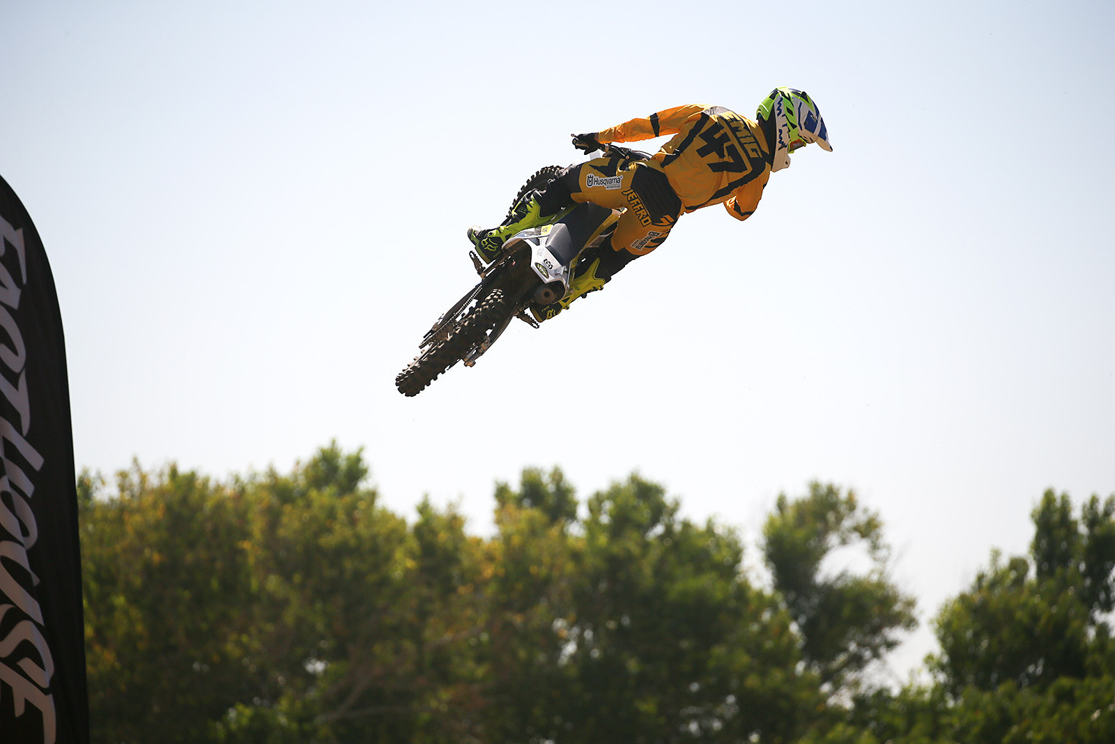 Jeff Emig brought out a Husky 150 to have fun with.