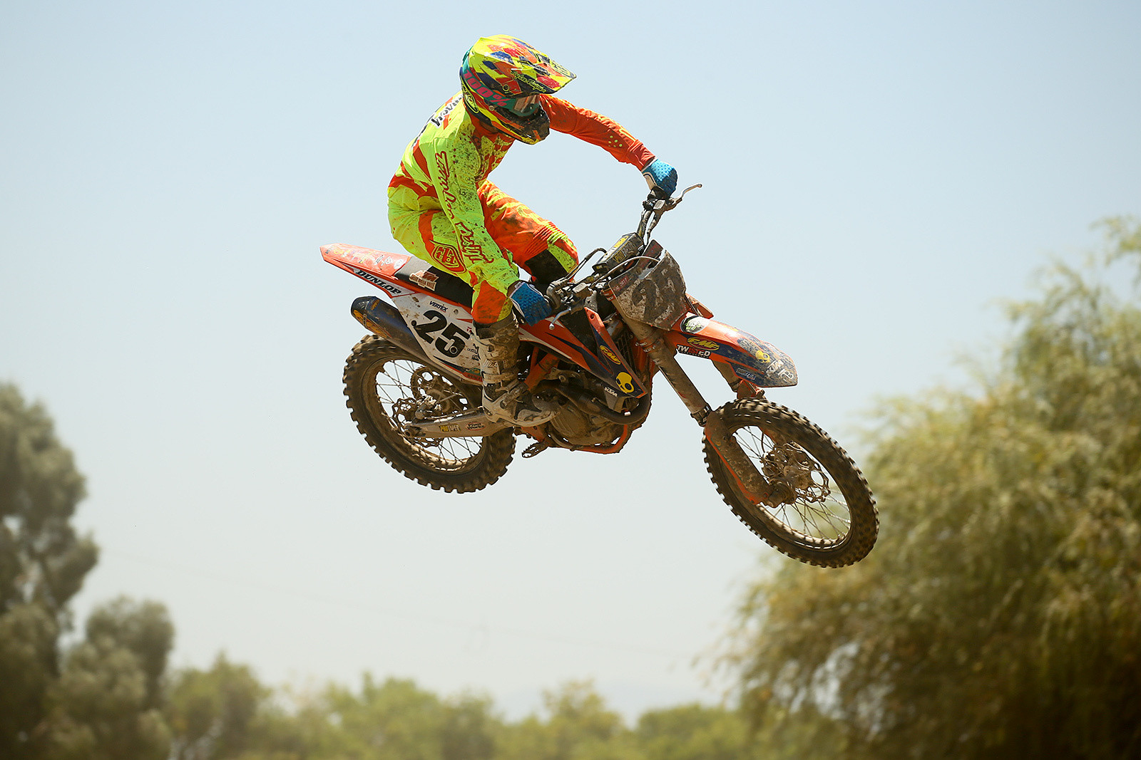 Nate Ramsey was also back from Loretta's and having fun.