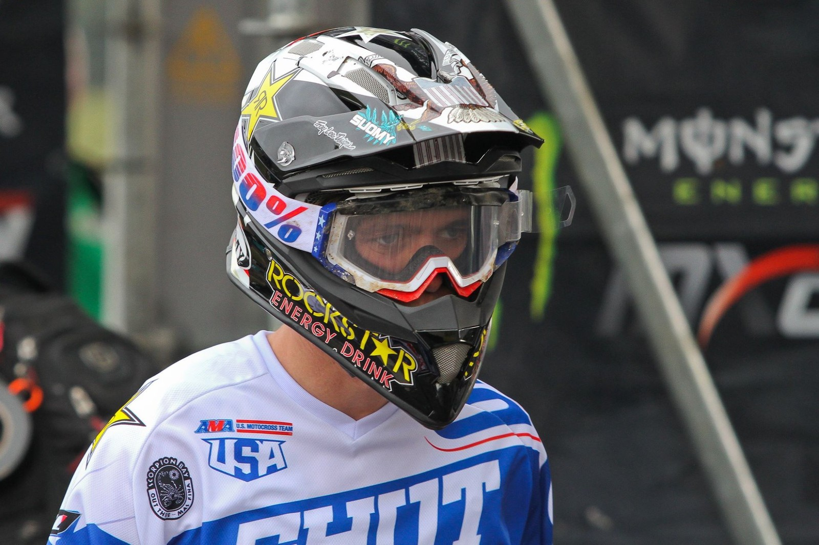 It's now been announced that Thomas Covington tore his ACL during a crash in Saturday's qualification race, making his rides on Sunday even more impressive.