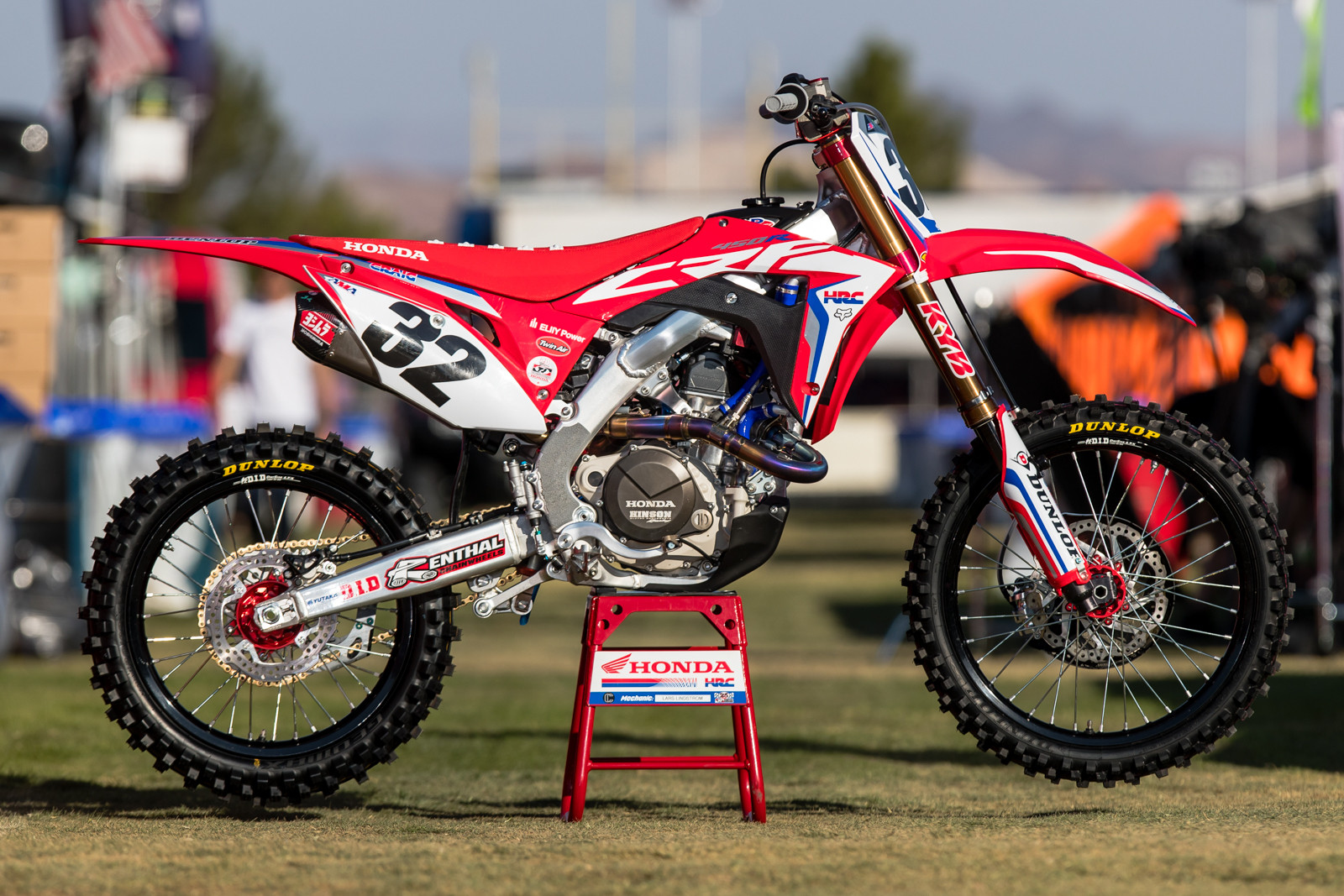 Cole Seely's machine is being piloted by Christian Craig for this year's MEC. And yes, Craig is #32 going into 2018.