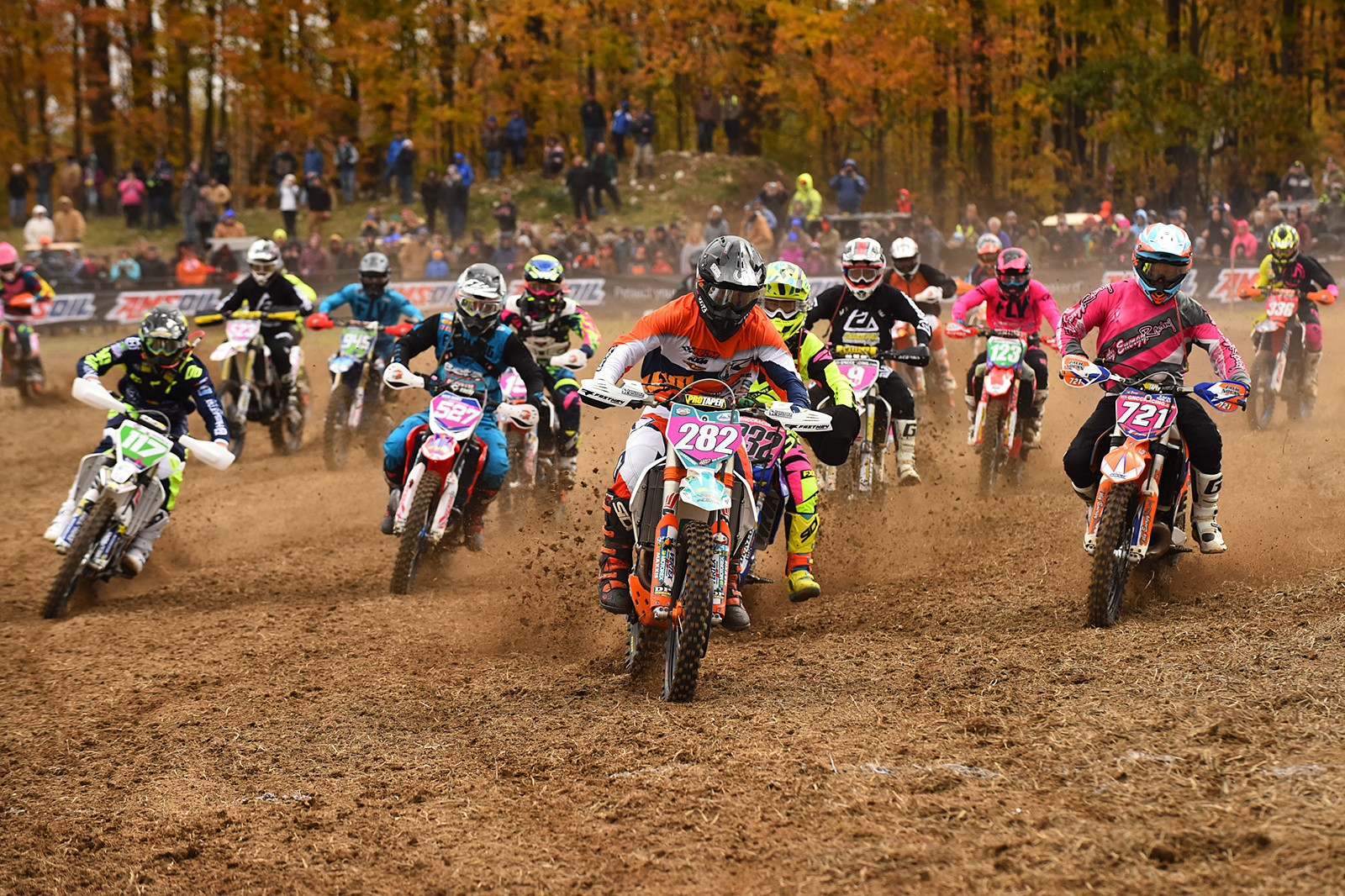 Mike Witkowski hammered out another XC2 holeshot.