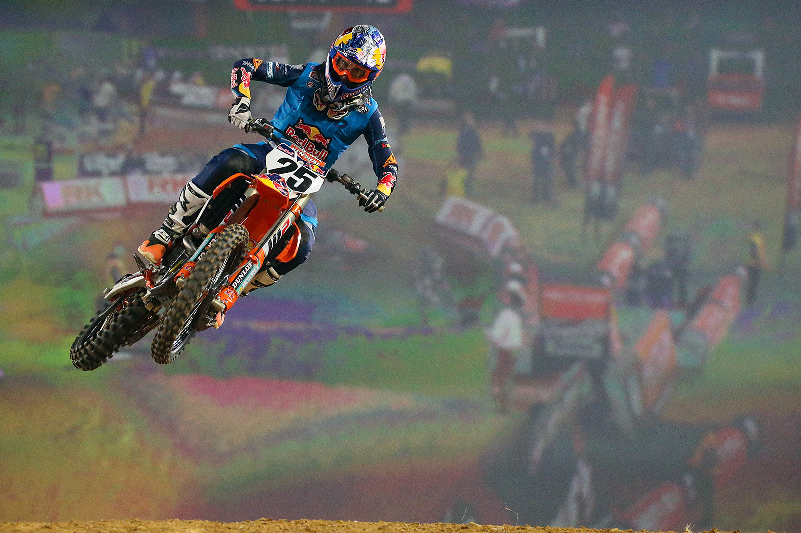 Marvin Musquin was second in qualifying during the afternoon, but he nabbed the Superpole with a fast lap that was a couple tenths faster than Cole Seely's lap.