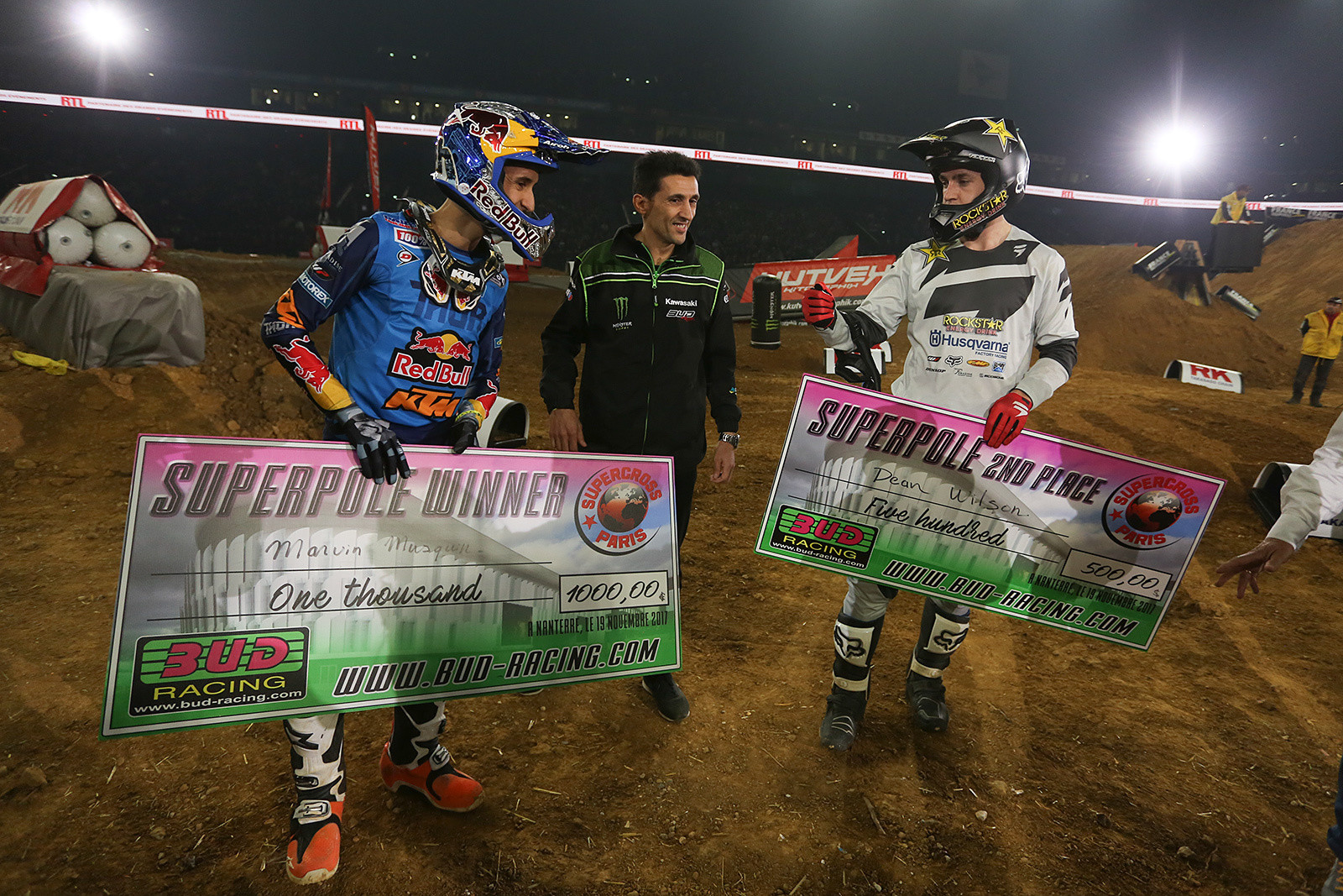 Once again, Marvin Musquin grabbed the Bud Racing-sponsored Superpole, this time by a couple of tenths over Dean Wilson.